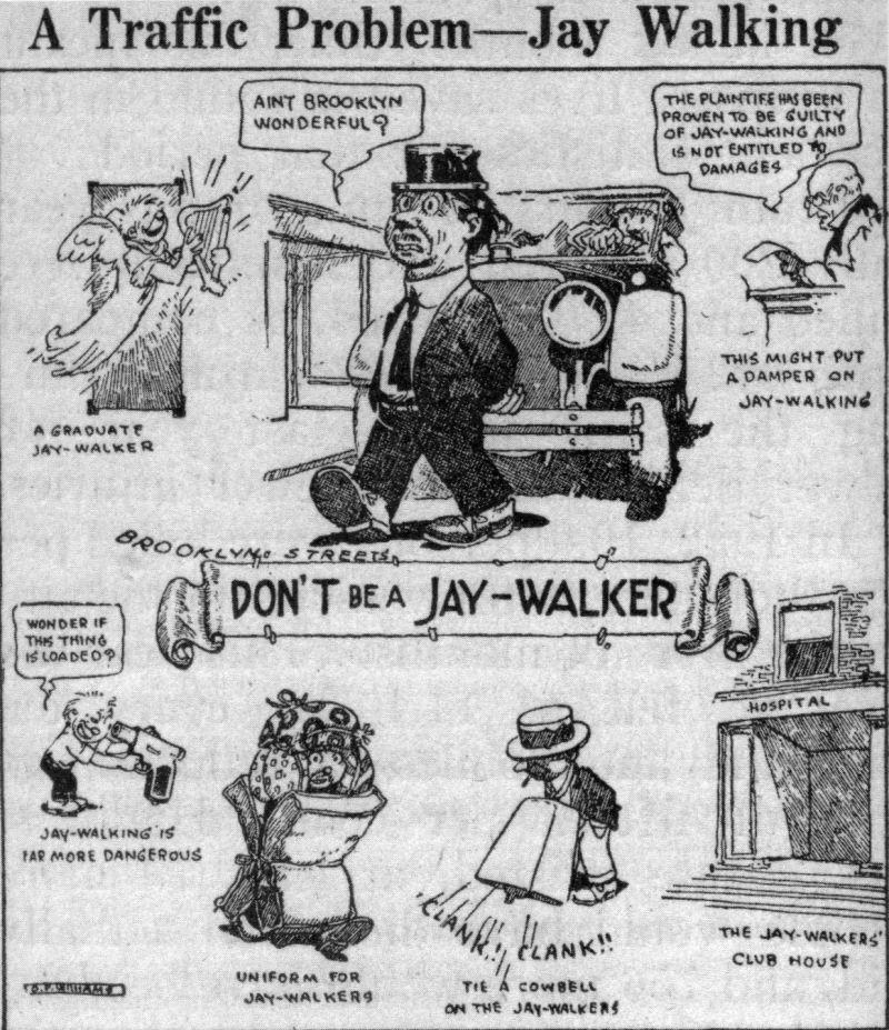 jaywalking ad