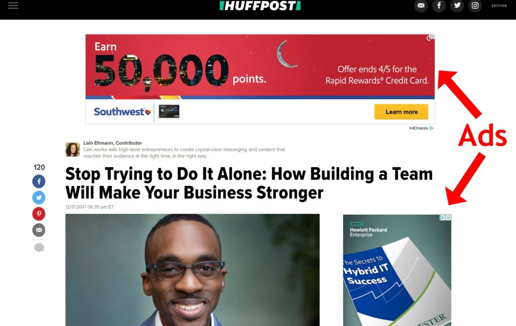 huffington-post-website-marketing-ads